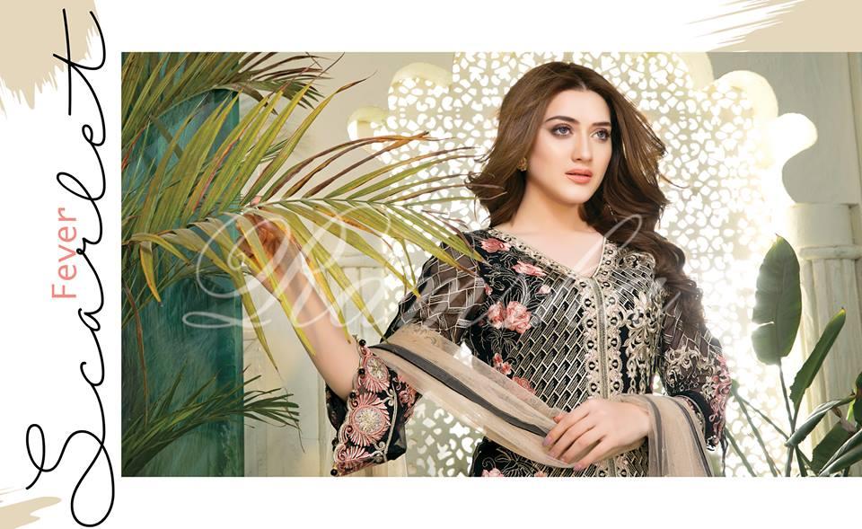 Ramsha House Of Glamour Chiffon Collection 2018