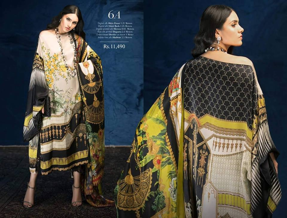 4b10fc062c The post Sana Safinaz Silk Chiffon Collection 2018-19 appeared first on PK  Vogue.