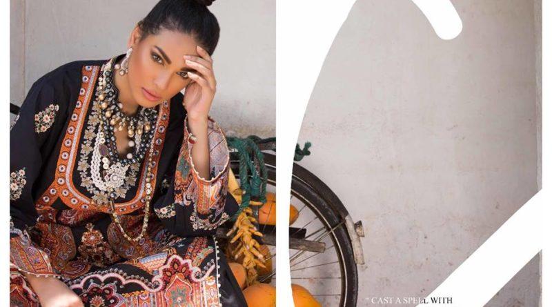 2399d1e120 Sana Safinaz Winter Shawl Collection 2018-19 - PK Vogue