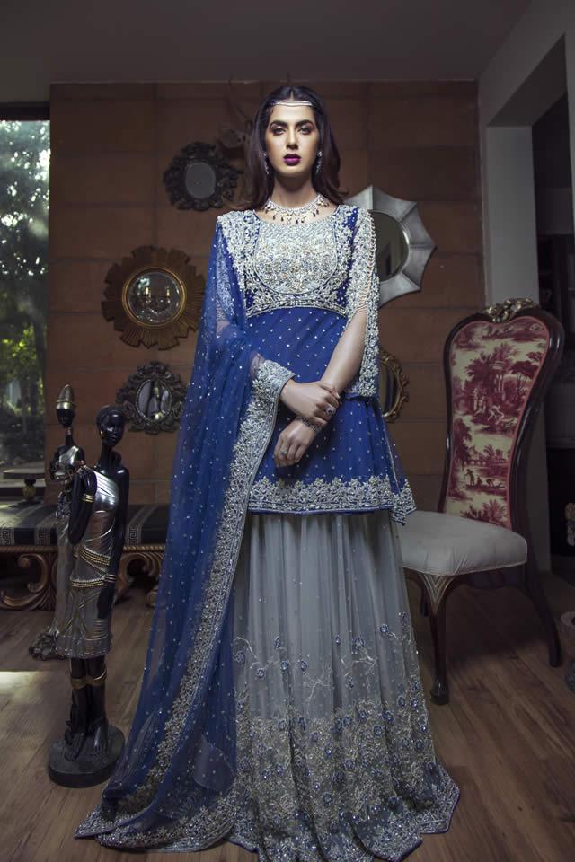 e48fc08432 Kiran Faheem Latest Wedding Collection 2018-19 - PK Vogue
