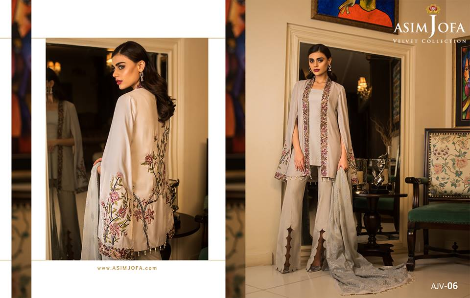 Asim Jofa Velvet Collection 2019
