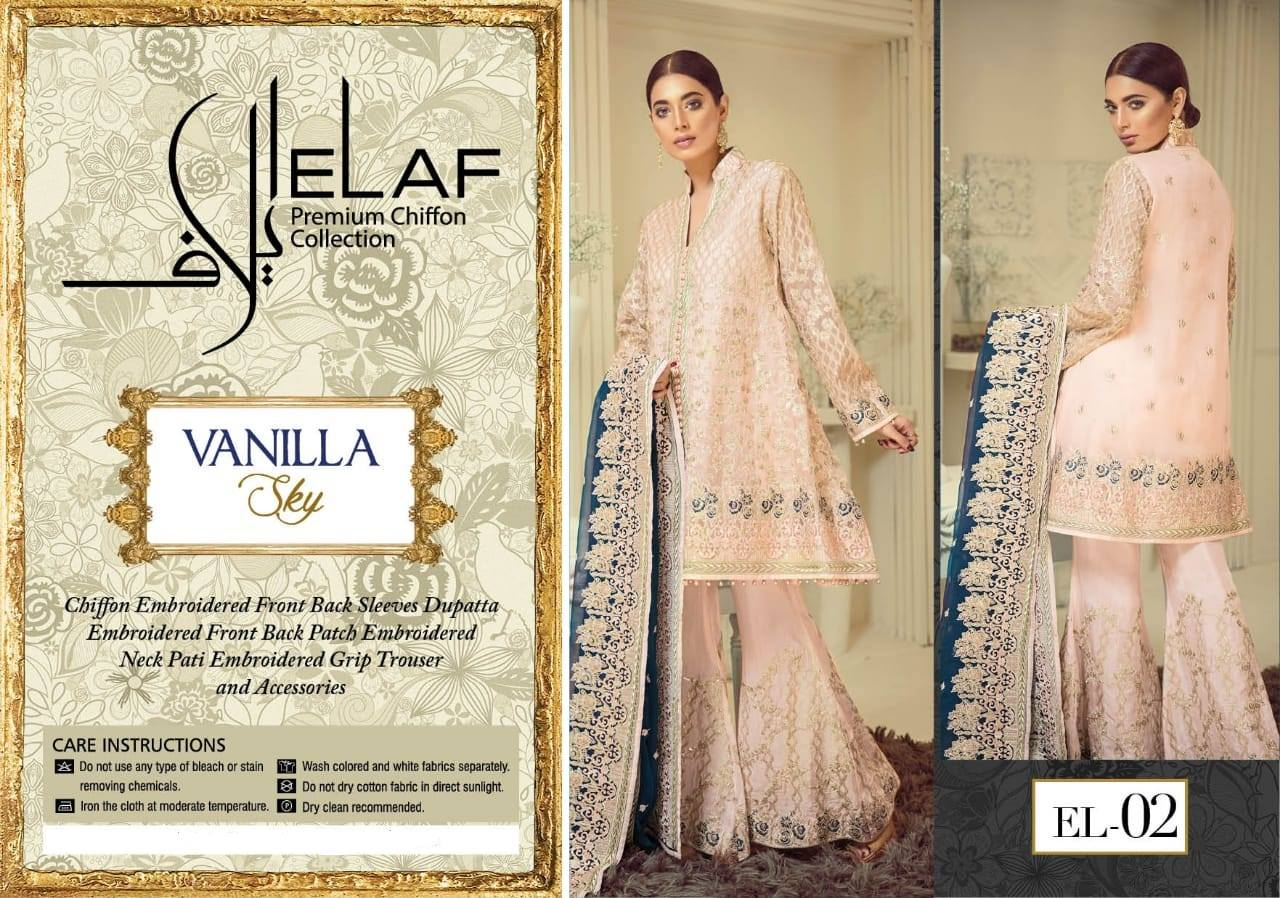 Elaf Premium Chiffon Collection