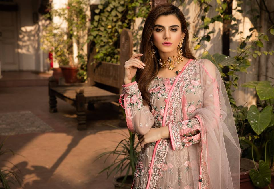Gulaal Premium Embroidered Chiffon Collection 2019-8