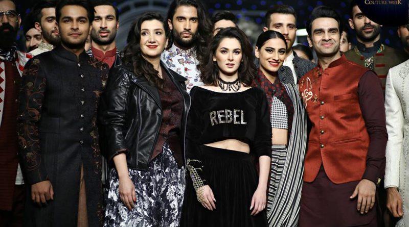 Munib Nawaz Collection At Bridal Couture Week 2019