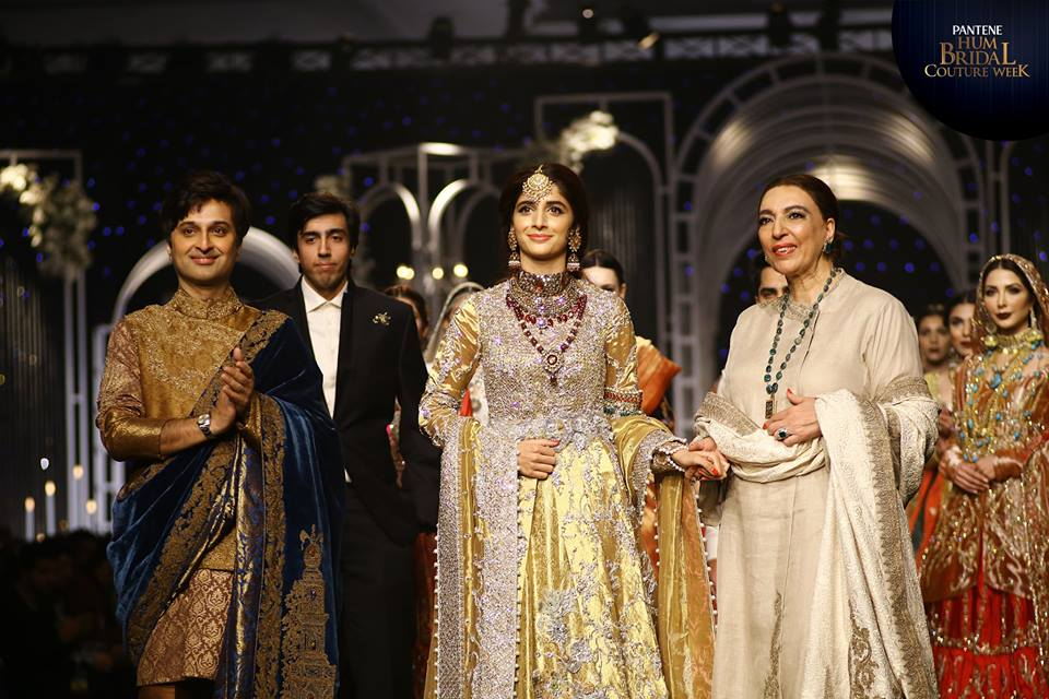 Nilofer Shahid Bridal Collection At BCW 19 17