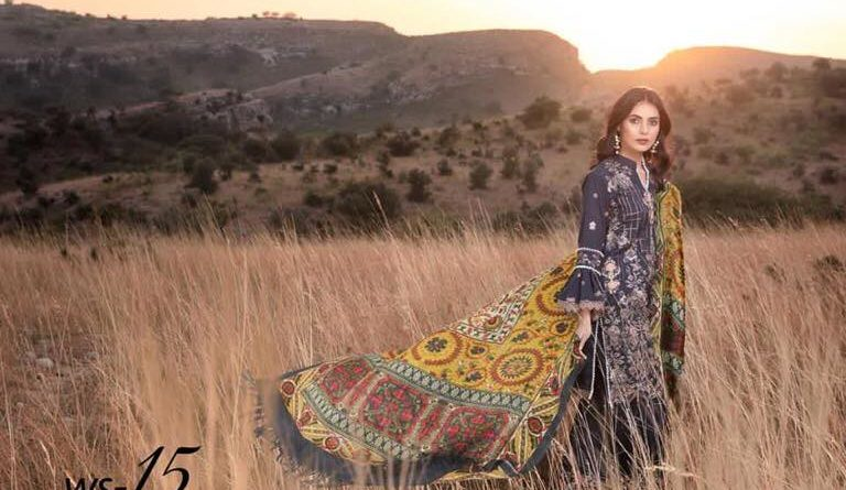 Shaista Wool Shawl Winter Collection 2019