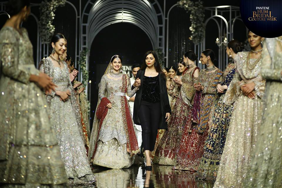 Uzma Babar Bridal Collection At Bridal Couture Week 2019