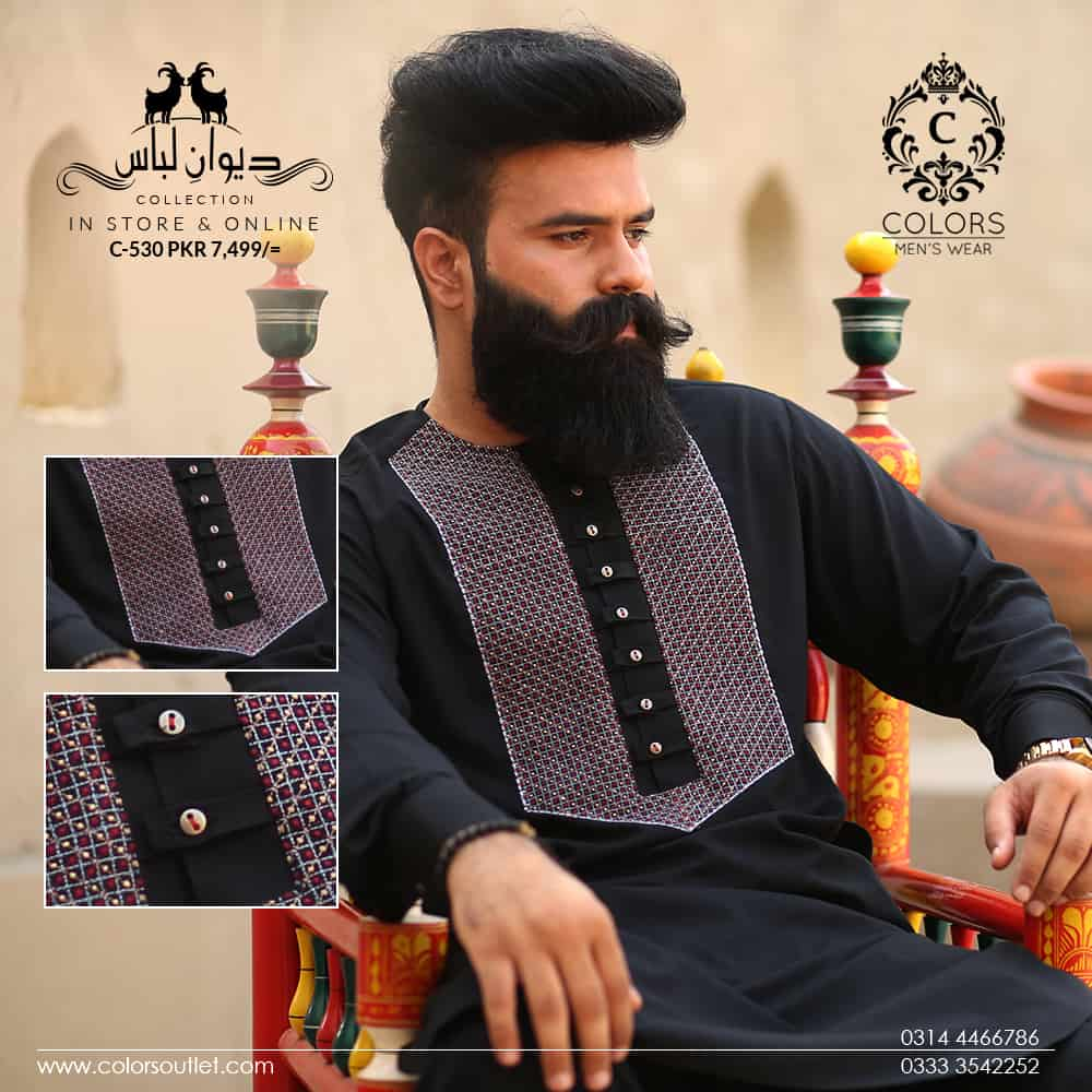 Latest Designer Men Shalwar Kameez Designs 2019 Pk Vogue