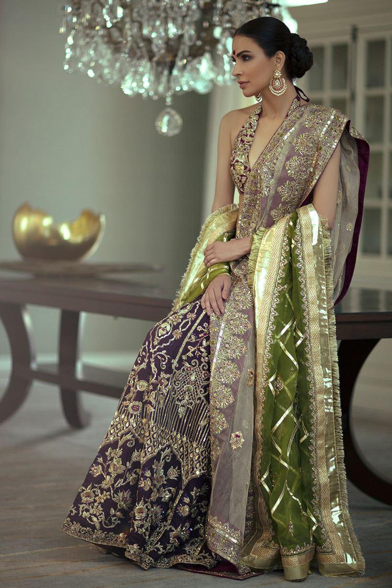 Shamsha Hashwani Bridal Dresses