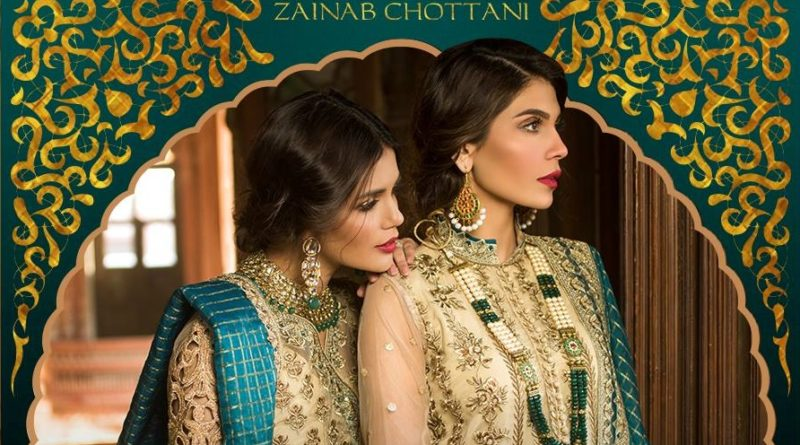 Zainab Chottani Wedding Collection 2019