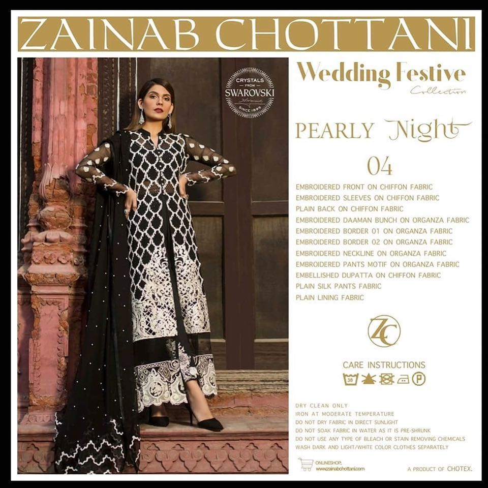 Zainab Chottani Wedding Collection 2019