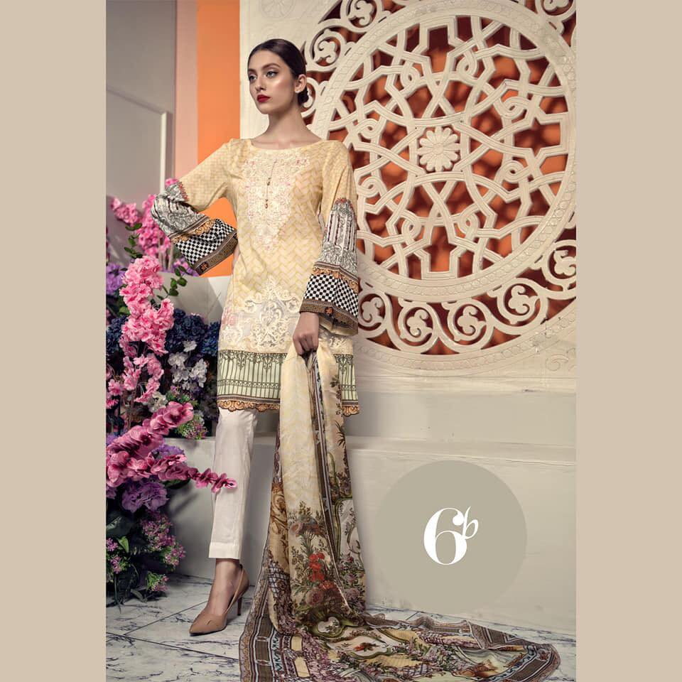 Aayra lawn Collection 2019