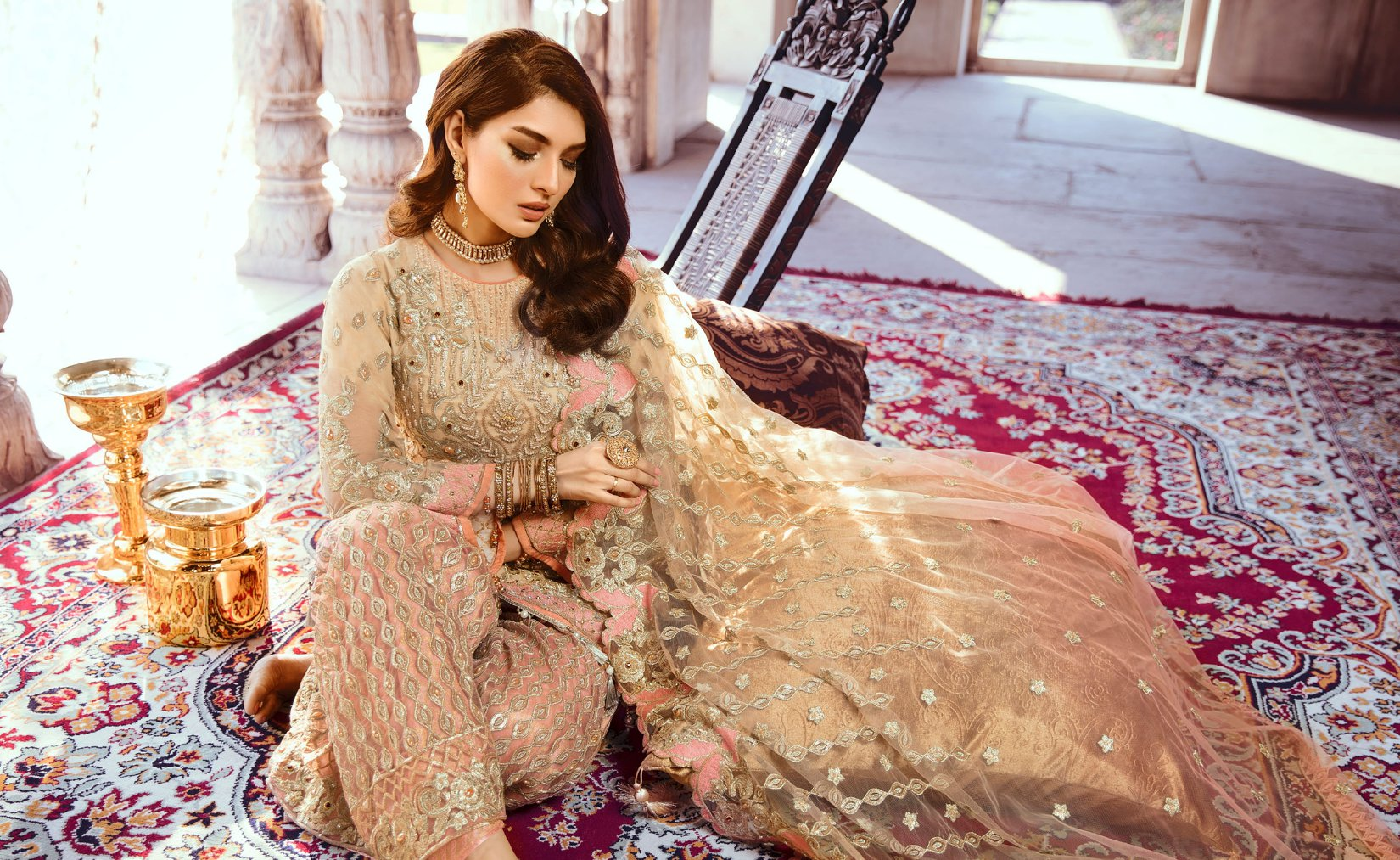 34d5dfecb6 Emaan Adeel Bridal Collection 2019 - PK Vogue
