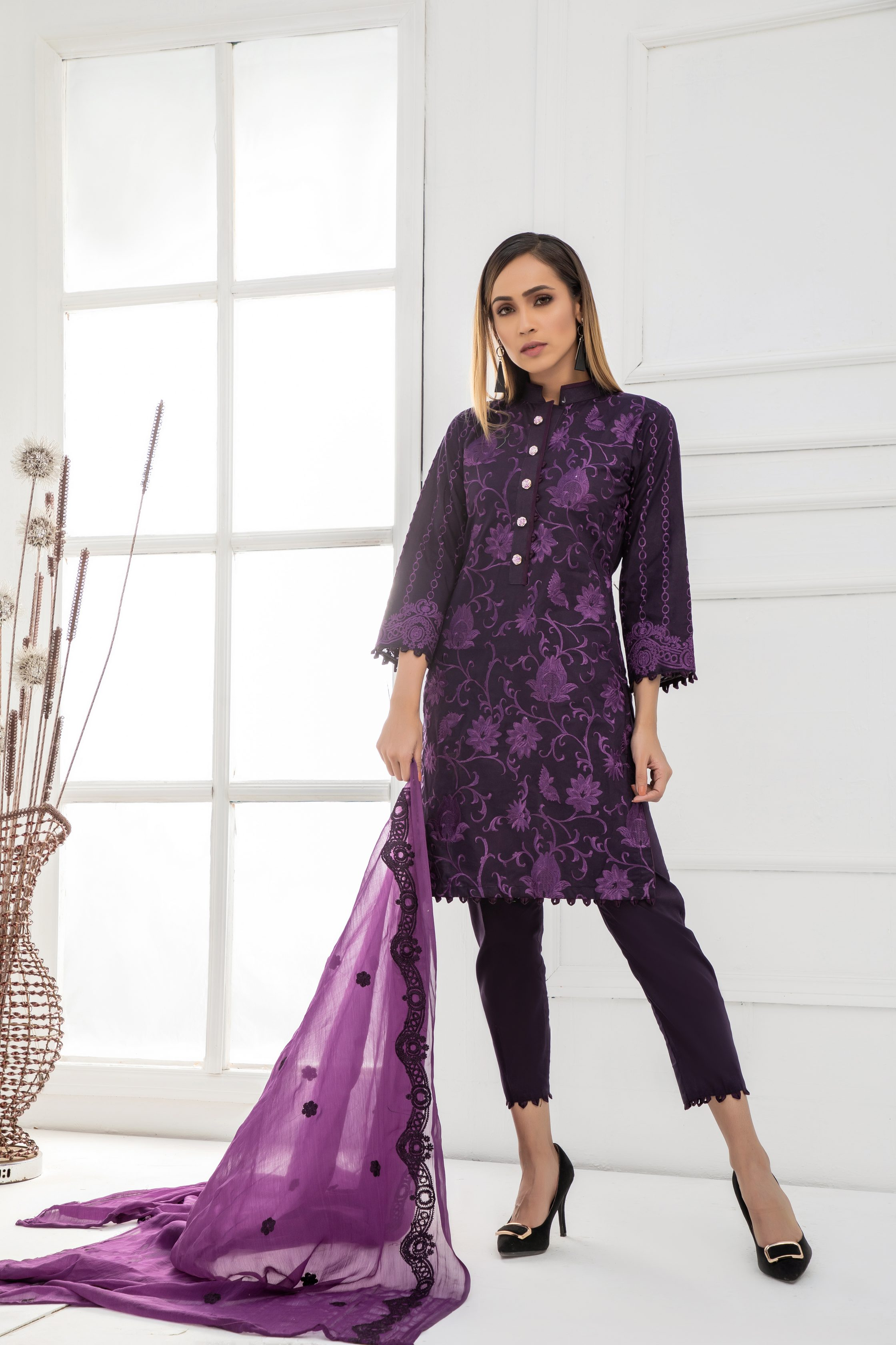 Kalyan Lawn collection 2019