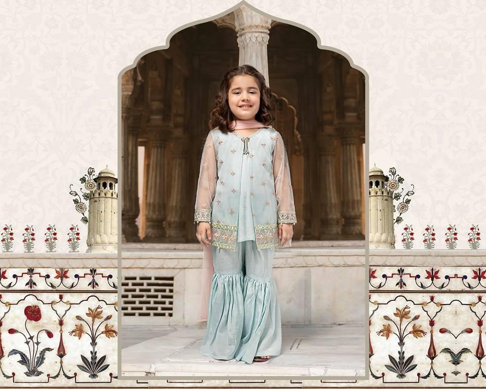 Maria B Kids Collection Dareecha | Baby Girls Dresses 2019