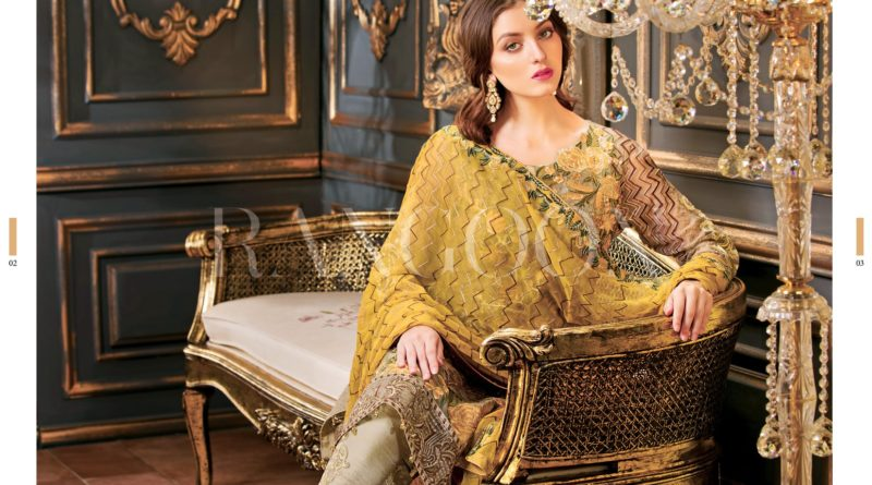 Rangoon Chiffon Collection By Ramsha