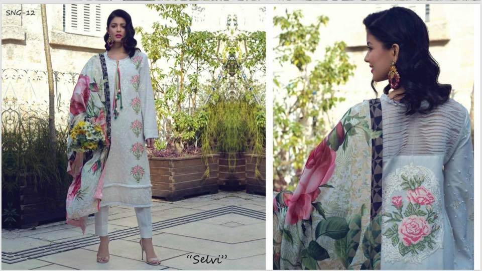 Sarang Lawn Collection By Ittehad Textile