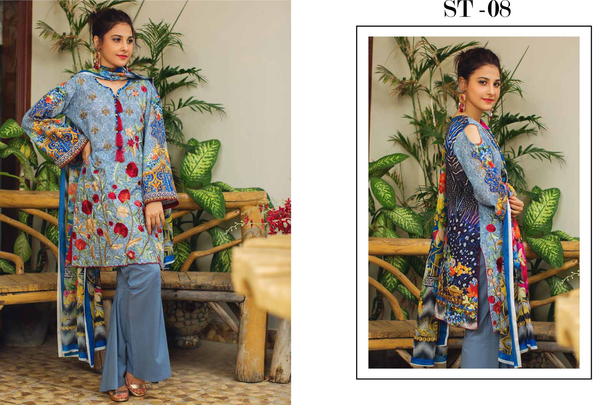 Deeba Lawn Collection 2019