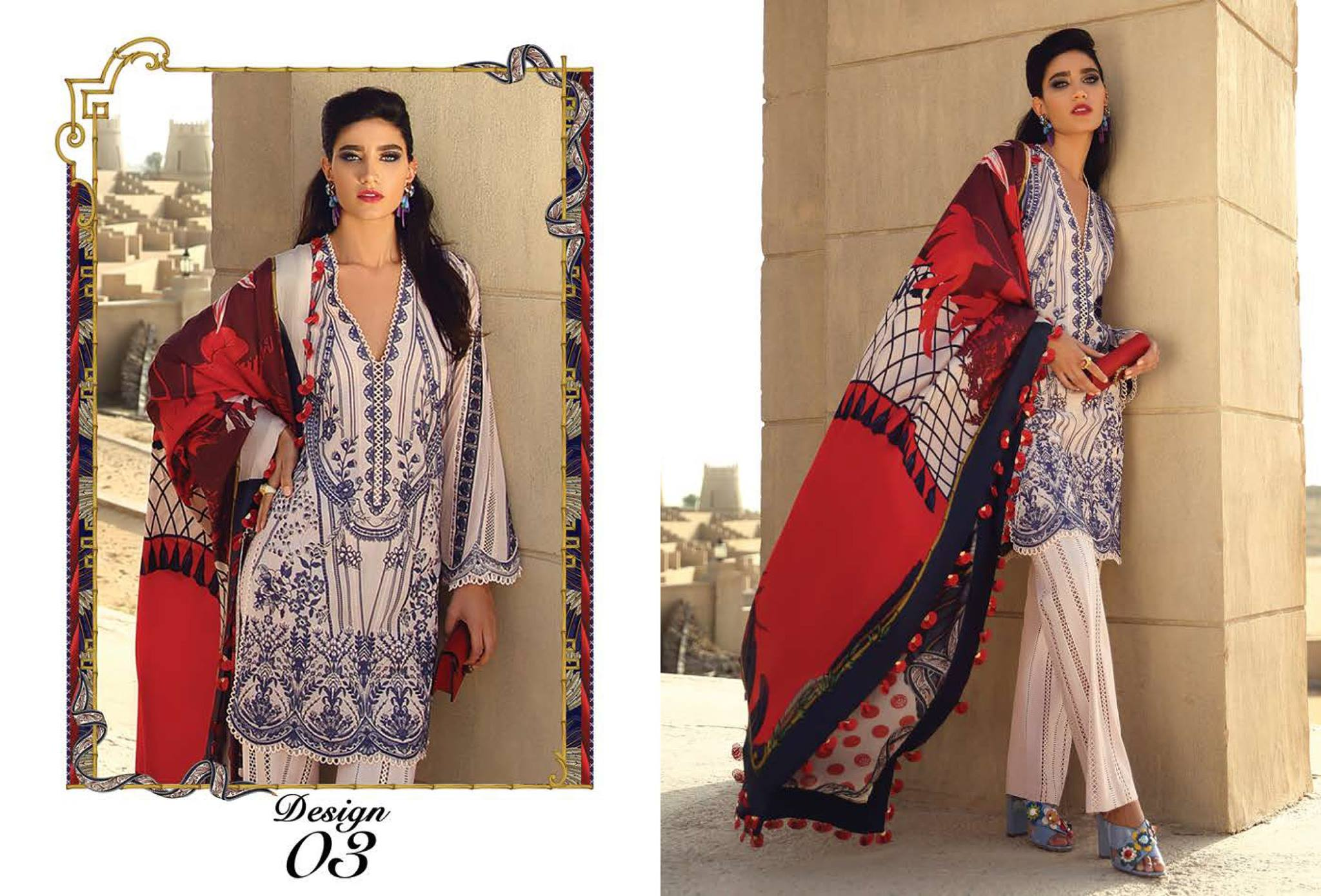 Faraz Manan Lawn Collection 2019