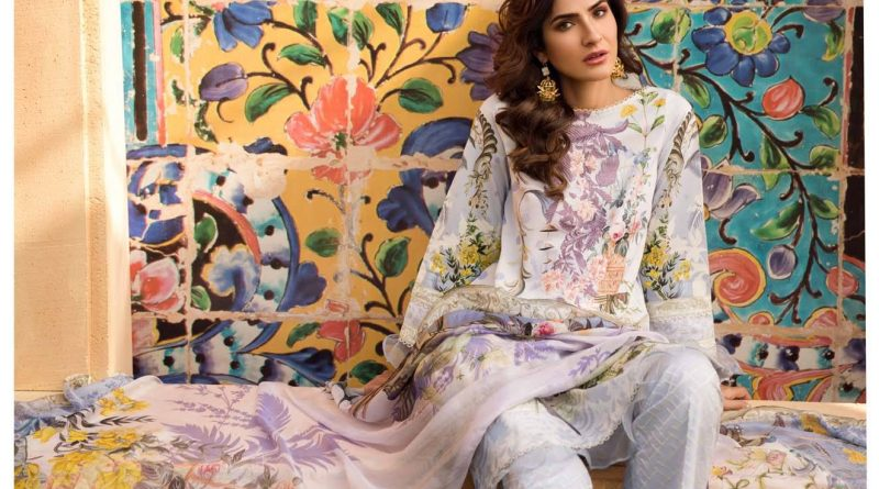 Firdous Embroidered Lawn 2019