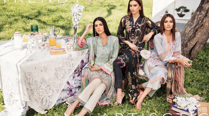 Qalamkar Luxury Lawn 2019