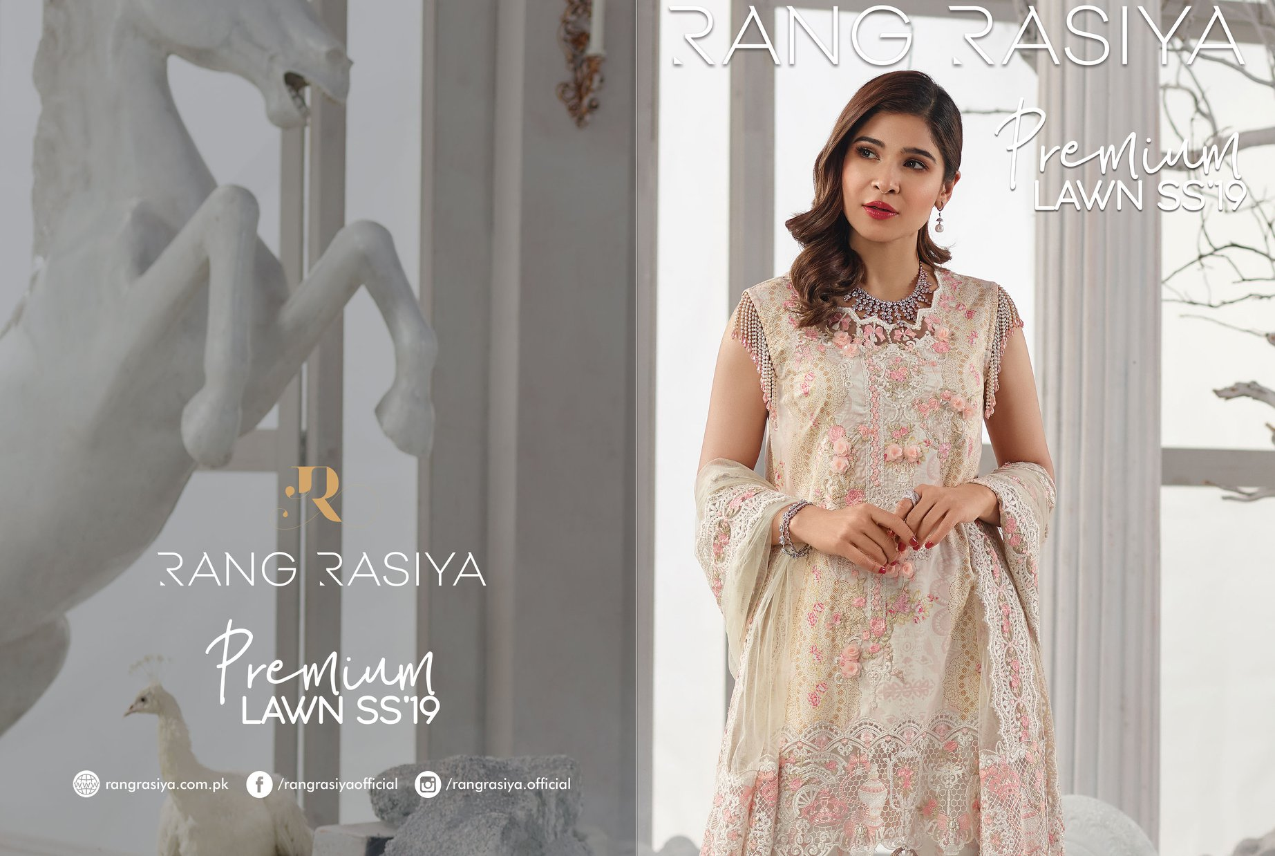 Rang Rasiya Premium Lawn 2019