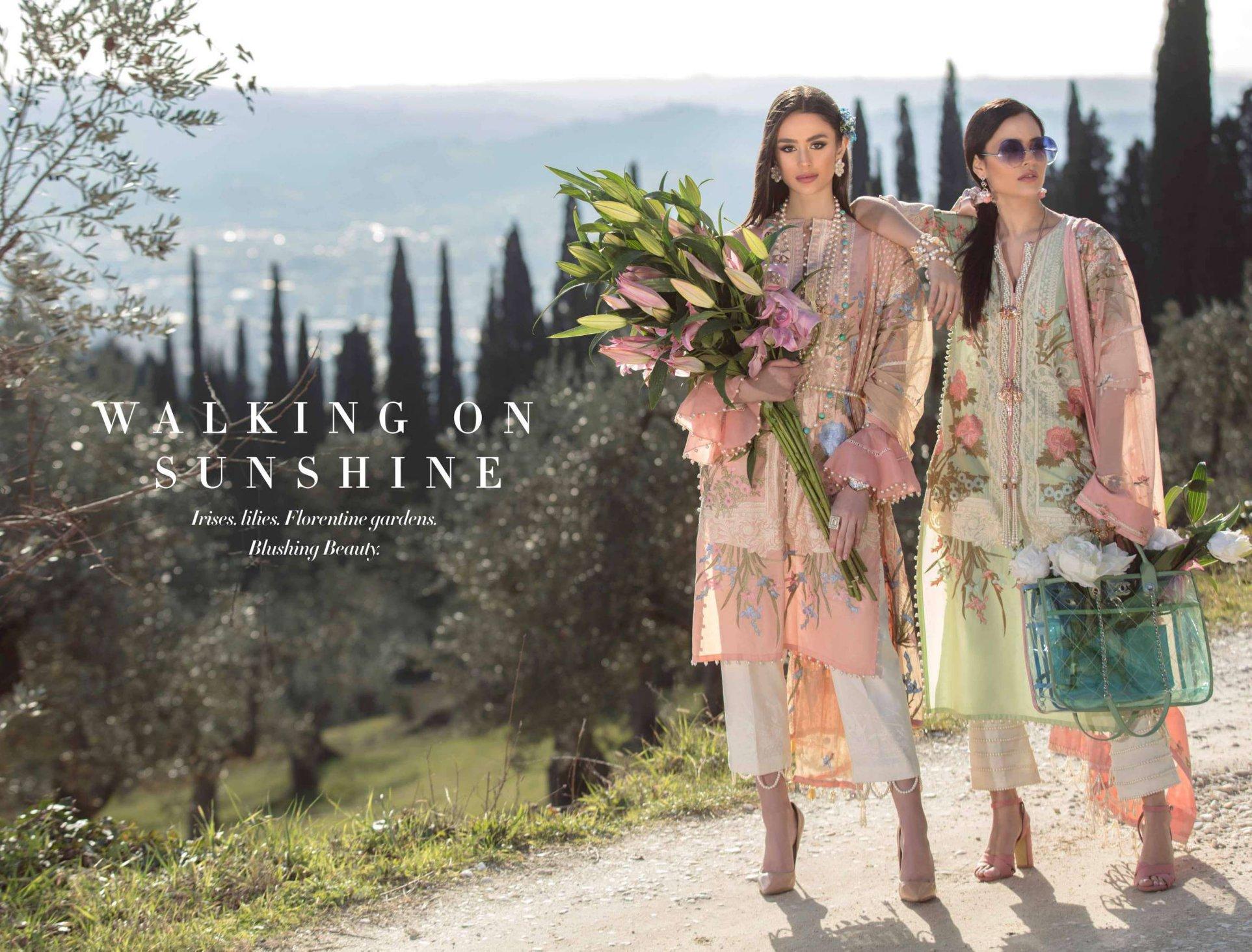 Sana Safinaz Luxury Lawn 2019