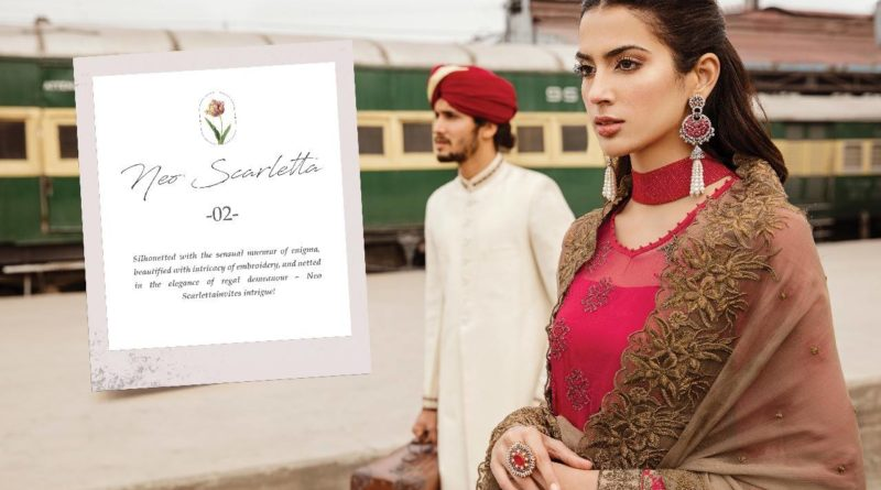 Wanderlust Chant Chiffon Collection 2019