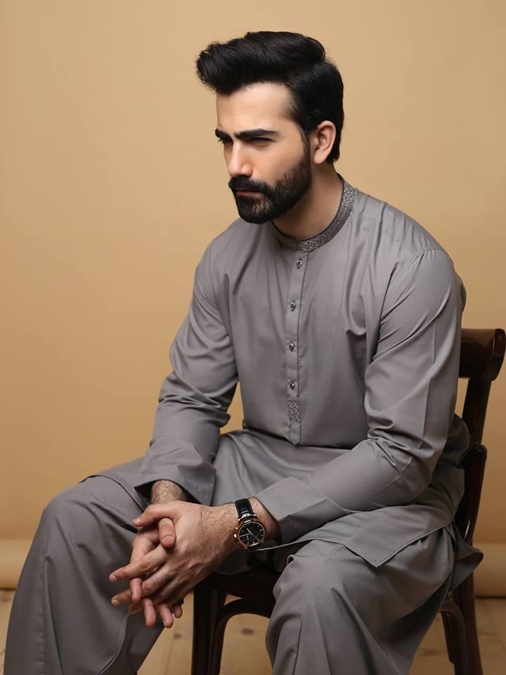 59f3d5ee8e Edenrobe Men Kurta Shalwar Eid Collection 2019 - PK Vogue