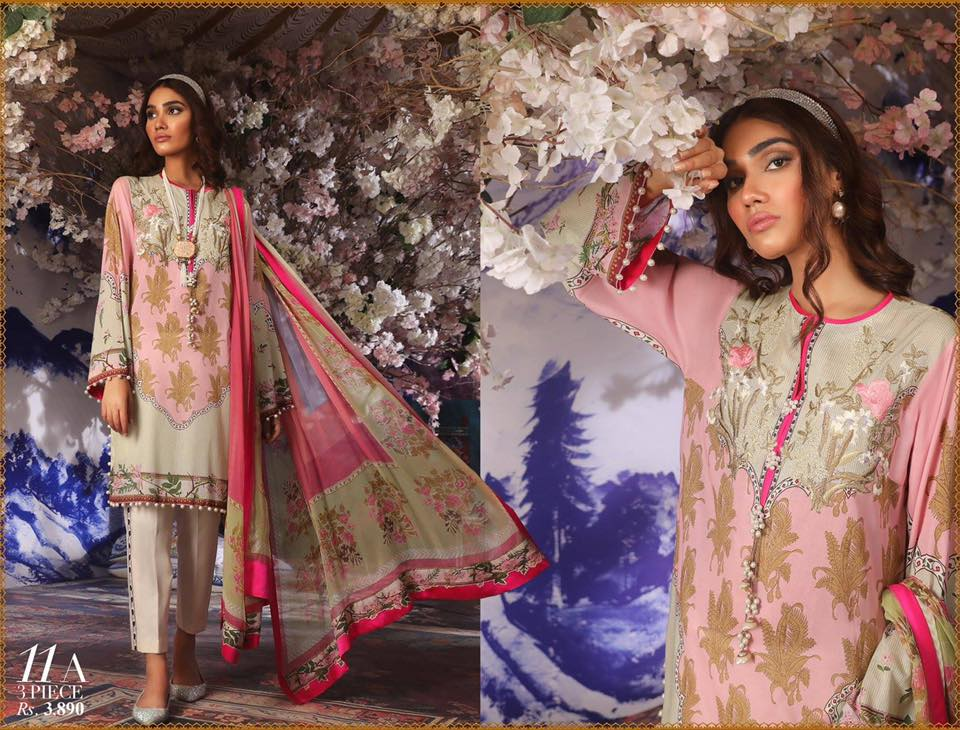 Sana Safinaz Muzlin Collection 2019
