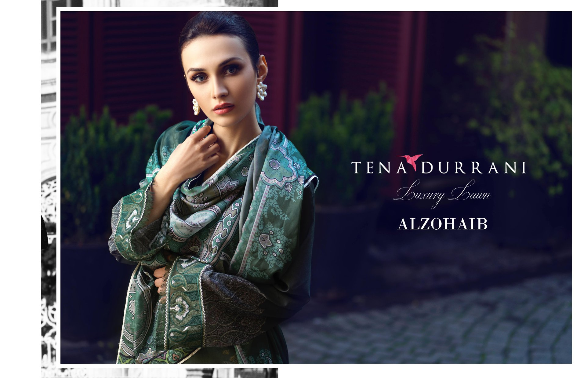 Tena Durrani Luxury Lawn 2019