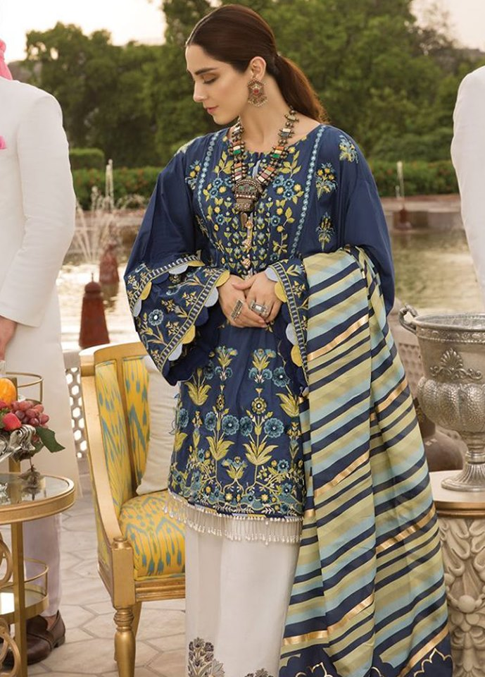 Crimson by Saira Shakira Luxury Lawn