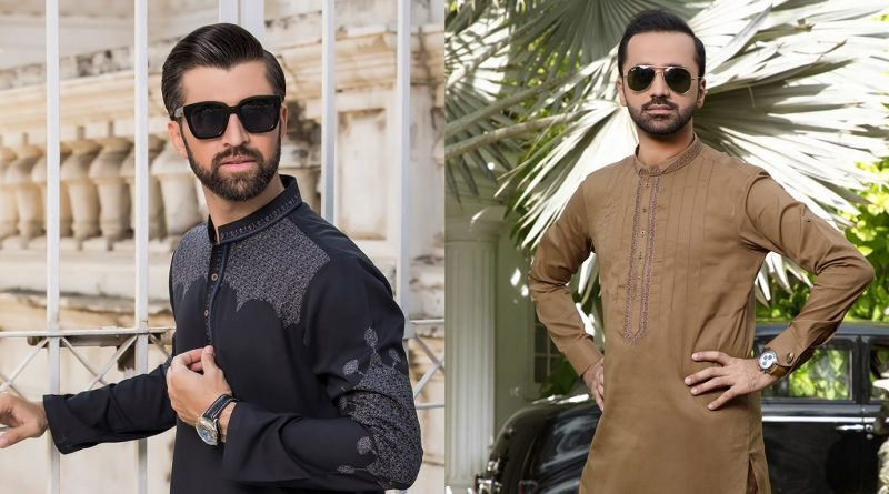 Latest Designs Of Men Kurta By Riwaj