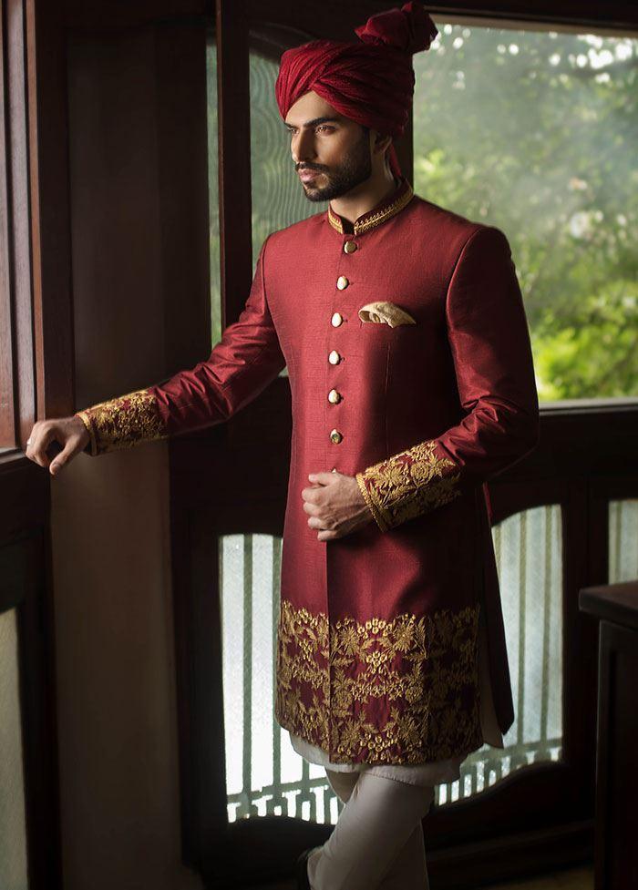 Sherwani Designs 2019 In Pakistan