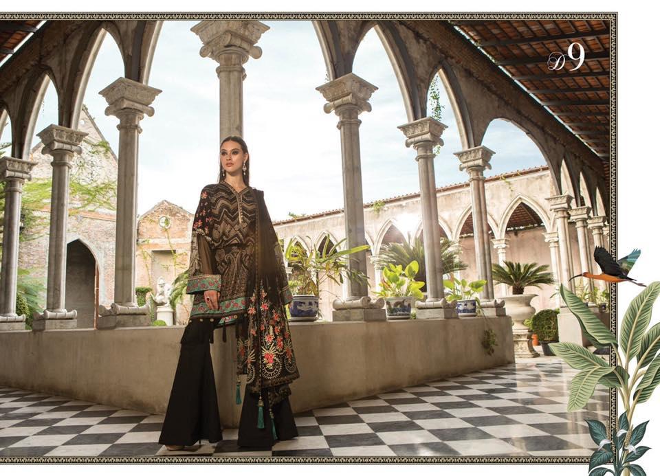 Maria B Eid Lawn Collection 2019