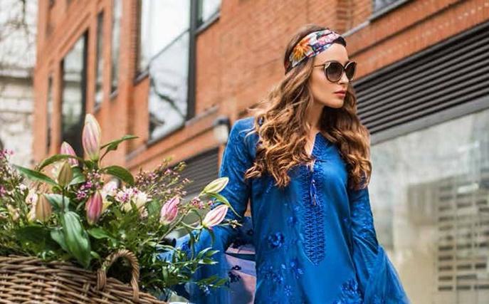 Mina Hasan Luxury Lawn Eid Collection 2019