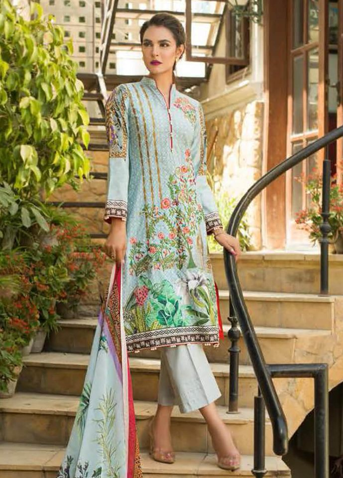 3818ae51f8 Nadia Hussain Premium Lawn Collection 2019 - PK Vogue