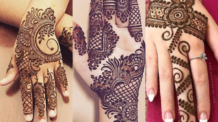 25 Best New Mehndi Designs For Eid 2019 Pk Vogue