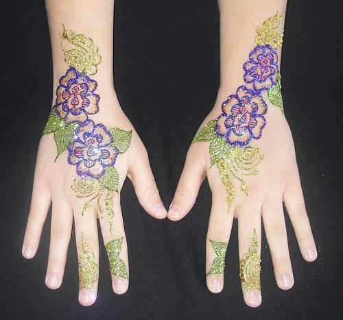 Glitter designs